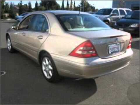 2001 Mercedes-Benz C-Class - Fairfield CA - YouTube