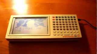 Кадры из мультфильмов на экране Электроники МК-90