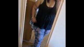 Plus Size OOTD - Torrid Sophia Vintage Rose Skinny Jeans Thumbnail