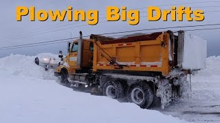 Six Wheel Drive~Plowing Big Drifts
