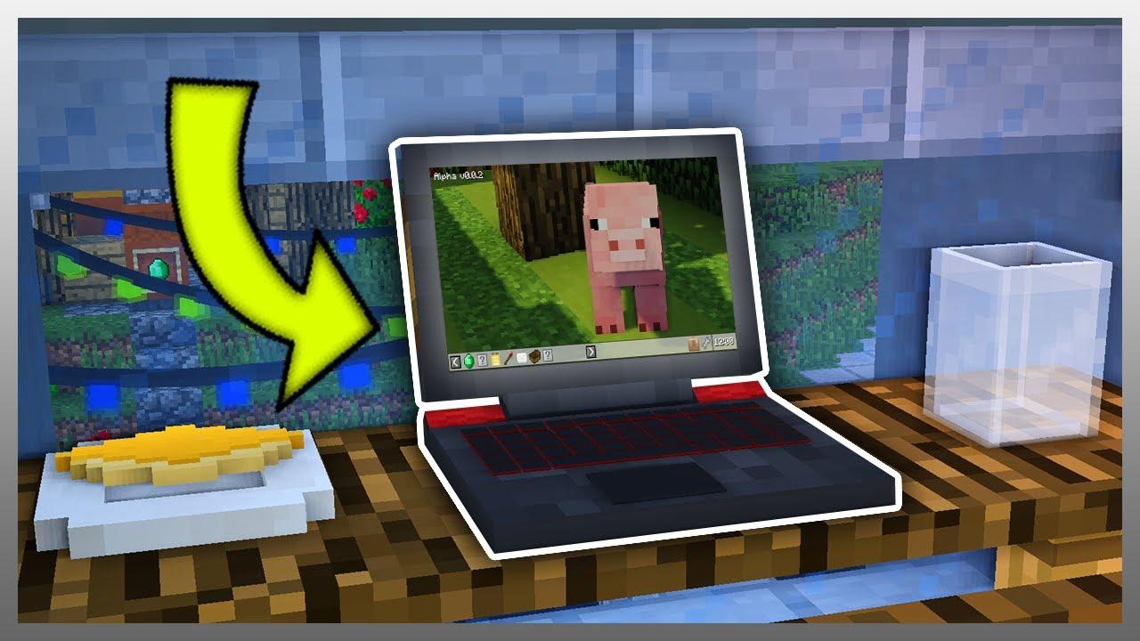 ✔️ Minecraft: Device Mod Update #1 (WORKING LAPTOP) YouTube