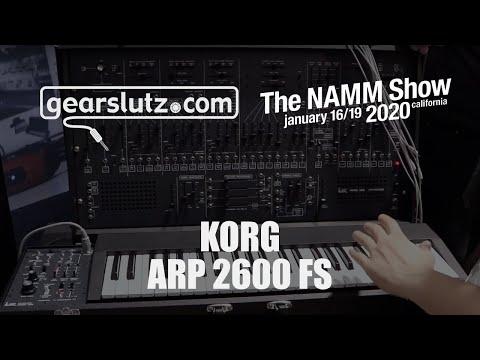 Korg ARP 2600 FS synth - Gearslutz @ NAMM 2020