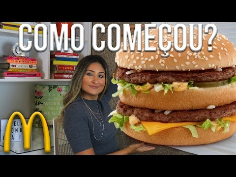 COMO COMEÇOU O MC DONALD'S? | PATRÍCIA BRAZIL