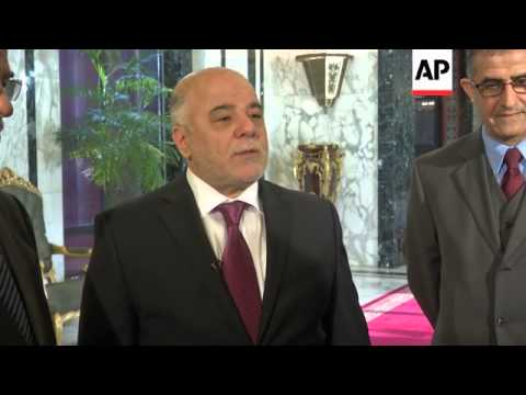 Al-Abadi calls for more help against IS