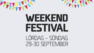 Missa inte Inet Weekend Festival i Sisjön 29-30 september!