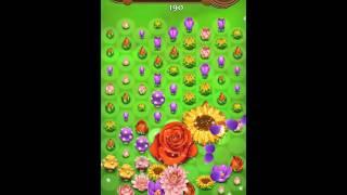 Blossom Blast Saga Level 297 No Boosters