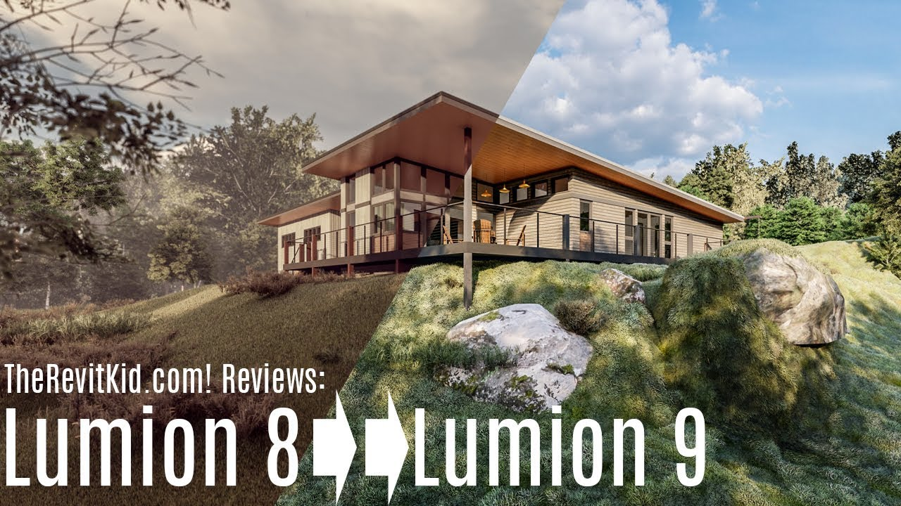 Lumion 9 Review - Real Skies, Real Grass, Real Problems