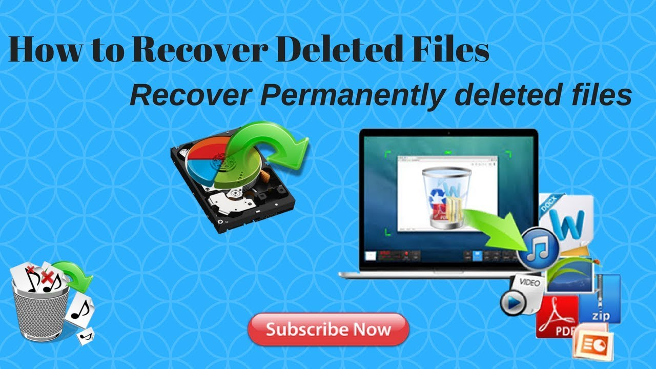 How To Recover Permanently Deleted Files For Free In Windows 7, 8 and 10