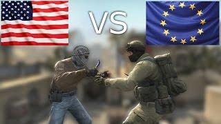 NA VS EU CS:GO
