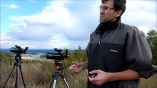 Использование телескопа в качестве зрительной трубы.Телескоп Sky-Watcher 804 и Sky-Watcher mak 102