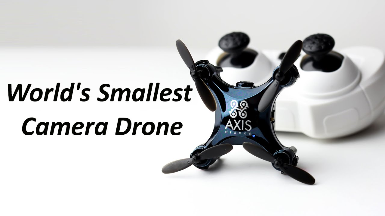 The Worlds Smallest Camera Equipped Drone