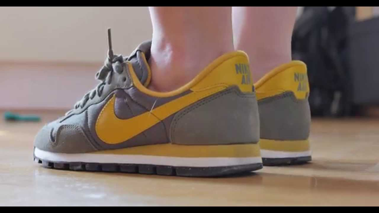buy popular 12411 79b63 Nike Air Pegasus 83 women olive yellow special edition rare sneaker REVIEW