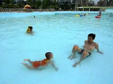 Ben tắm biển Đại Nam
