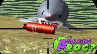 THE AMAZING FROG? - Exploding Sharks - Part 24