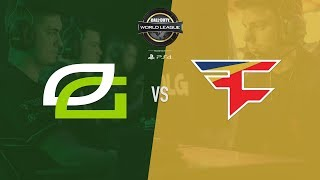 OpTic Gaming vs. FaZe Clan | CWL Pro League Stage 2 Playoffs | Day 1