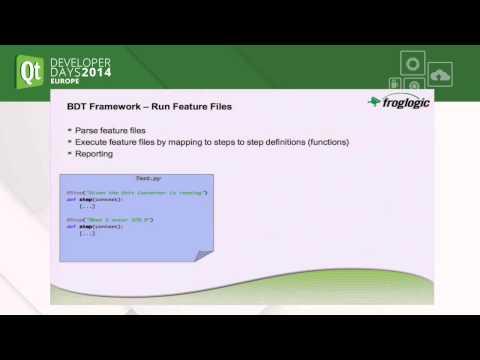 QtDD14 - Behavior-Driven Development and Testing of Qt C++ & QML Applications - Reginald Stadlbauer