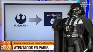 Star Wars  : TVE Confunde el emblema de Al Qaeda con el de la Alianza Rebelde de 'Star Wars'