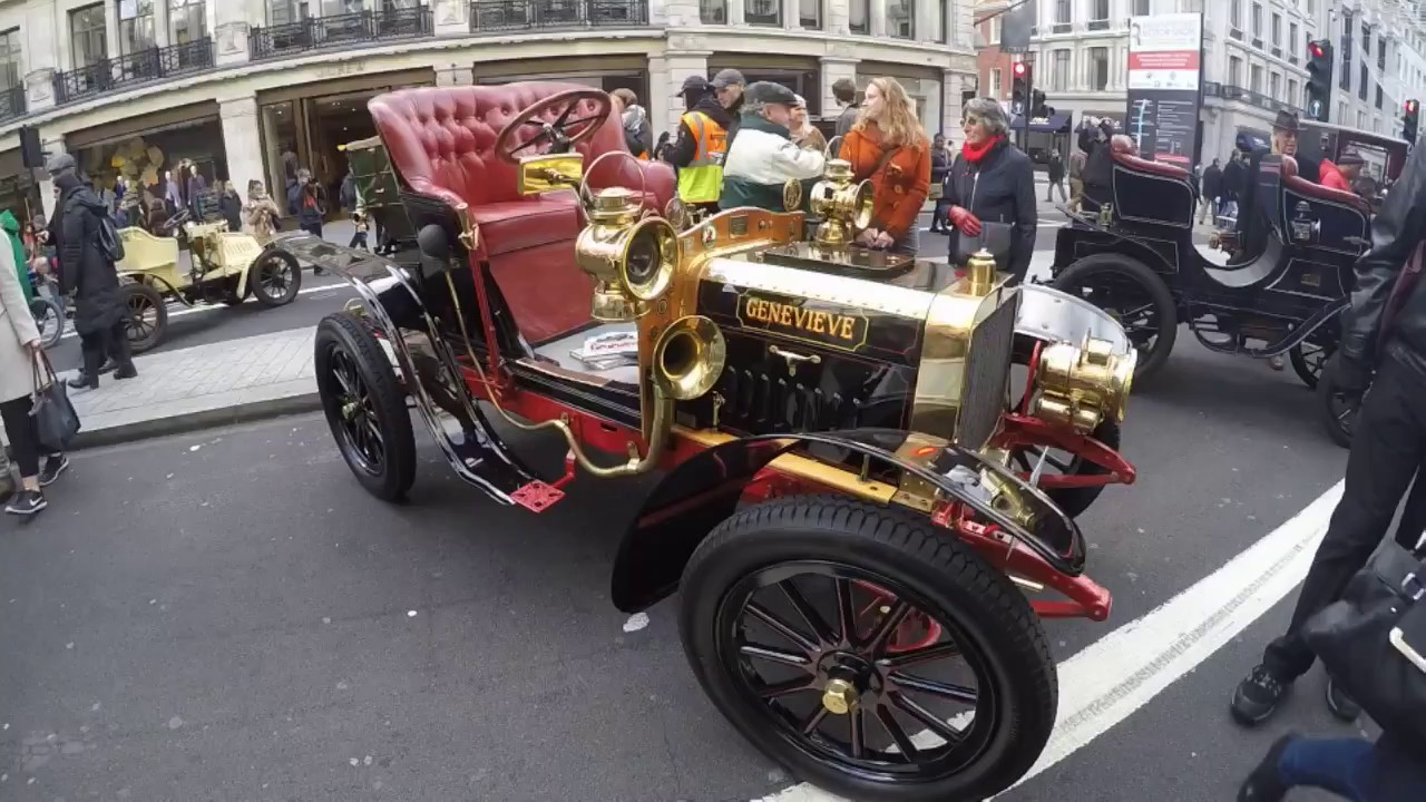 Regent Street Motor Show London to Brighton Vintage Car Run - YouTube