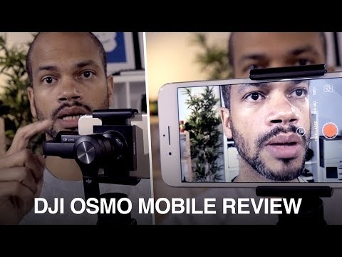 DJI Osmo Mobile hands on review 2017 - the best smartphone gimbal/stabilzer? Do you need it?