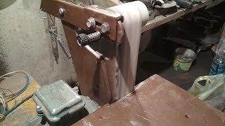 Гриндер 2-я часть, своими руками+размеры, натяжной ролик из ПП трубы  07.11.19