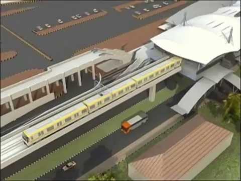 Kereta Bawah Tanah Subway Mrt Jakarta Rencana Tahun 2010 Youtube