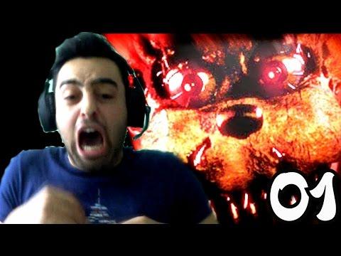 Five Nights at Freddy's 4 Türkçe oynanış | Bittim ben Beyler | 1.Bölüm indir