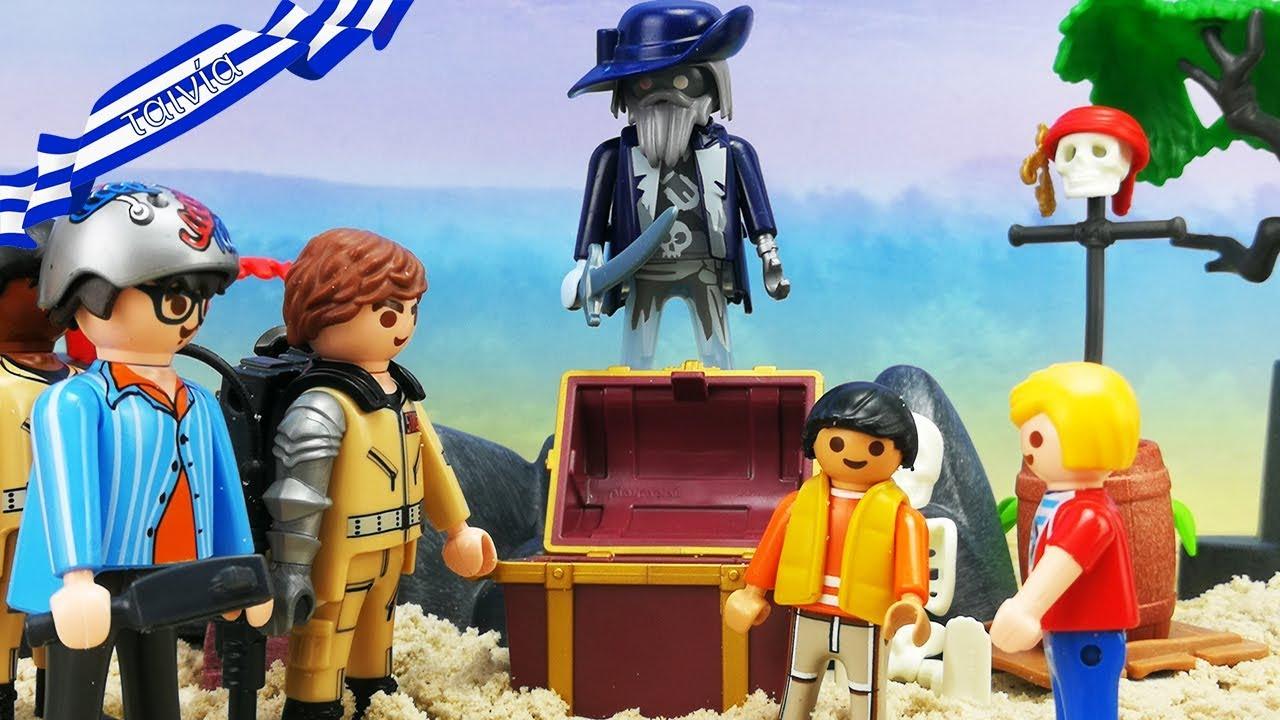 Playmobil ταινία ελληνικά επεισόδια - Οι Ghostbusters και ο μυστικός θησαυρός του κάπταιν Σιγκ!