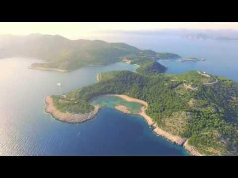 Amazing Mljet Island in Croatia - 4K - Saplunara, Oddyseus Cave and more