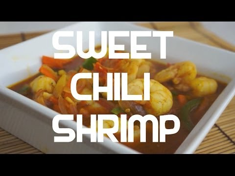 Paano magluto Pinoy Sweet Chili Prawn Recipe   Tagalog English Filipino cooking Shrimp