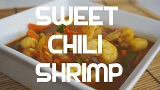 Pinoy Sweet Chili Prawn Recipe   Tagalog English Filipino Cooking Shrimp