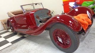 Poor Old 1928 Alfa Romeo 6C 1500 Sport