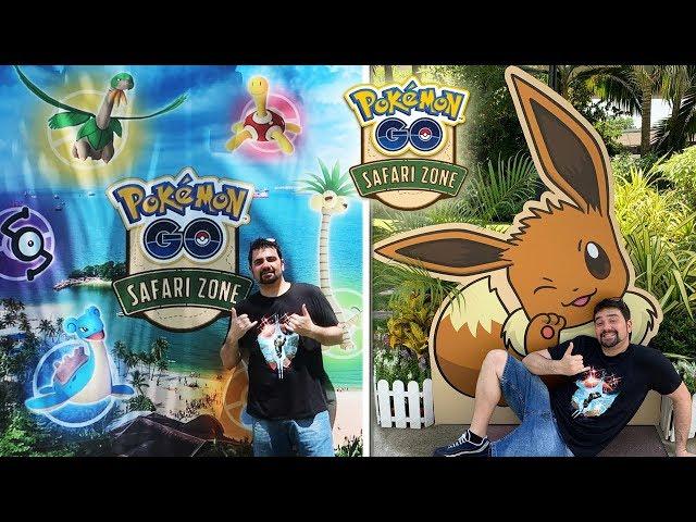 ¡OS ENSEÑO COMO SERÁ el SAFARI ZONE de Sentosa en Pokémon GO! [Keibron]