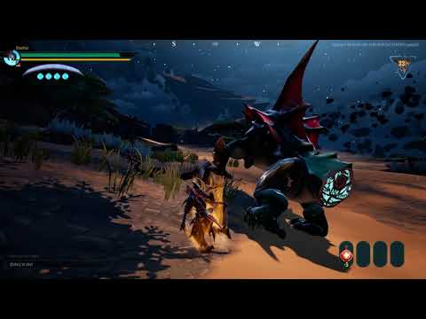 Dauntless: Solo Drask Fight (Chain Blades)
