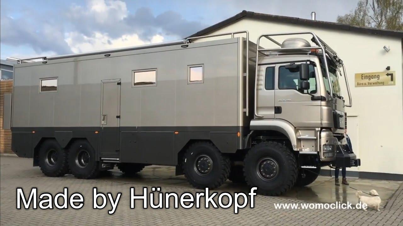 MAN 10 x 10 mit Hünerkopf-Aufbau / womoclick.de