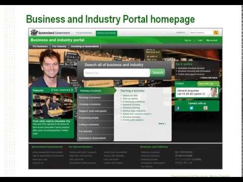 How the Business & Industry Portal can benefit your business recorded webinar - 13 June 2013