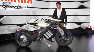 [Jorsindo] YAMAHA MOTOROiD 智能平衡電動機車示範 2019台灣重機展