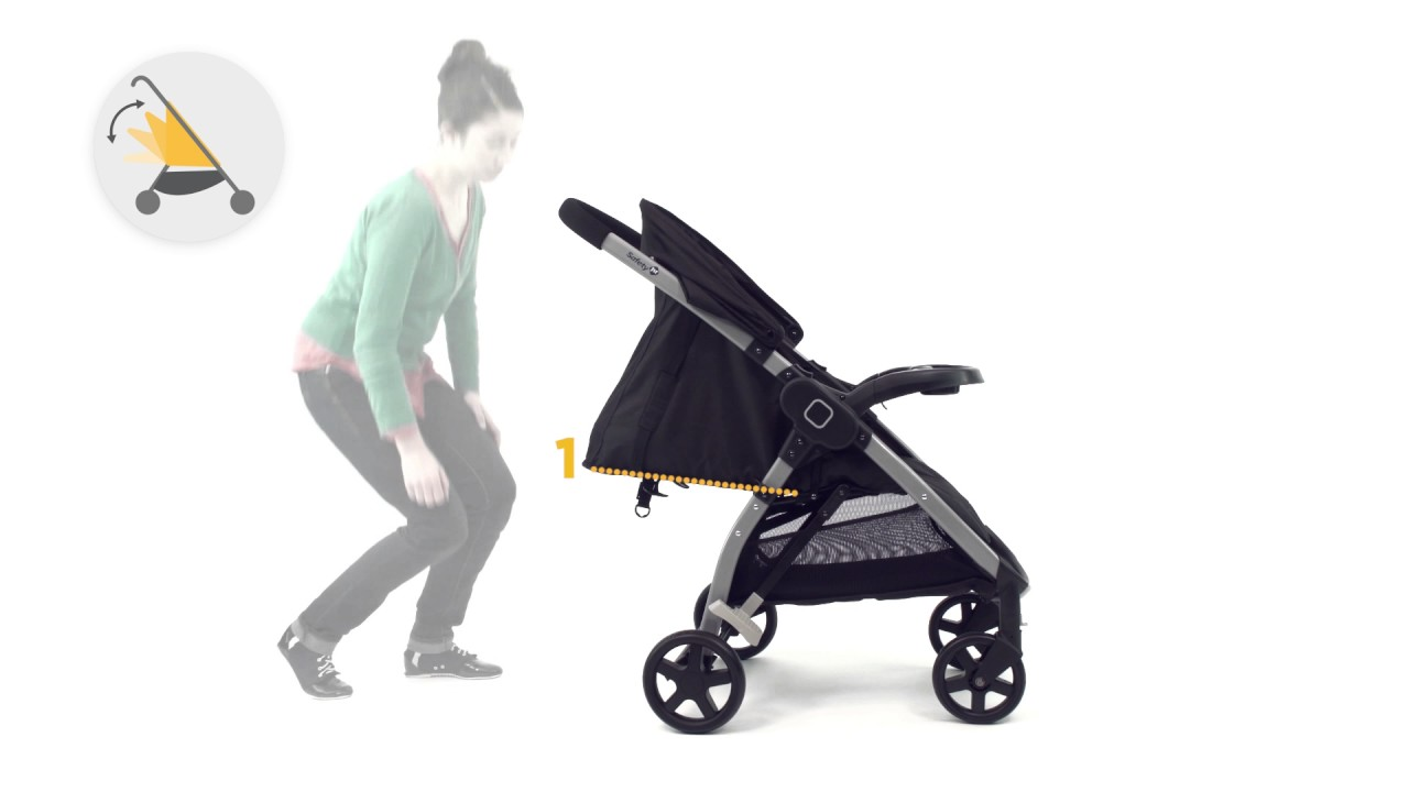 Safety 1st Step Go Stroller Instruction Video Youtube