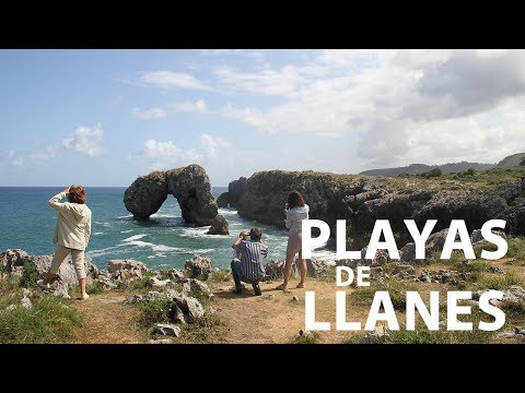 vídeo sobre The beaches of Llanes