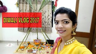 Diwali Celebration WITH Family Vlog 19 Oct 2017||INDIAN FESTIVAL CELEBRATION VLOG