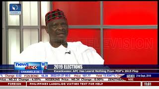 Kwankwaso Says APC Has Learnt Nothing From PDP's 2015 Flop
