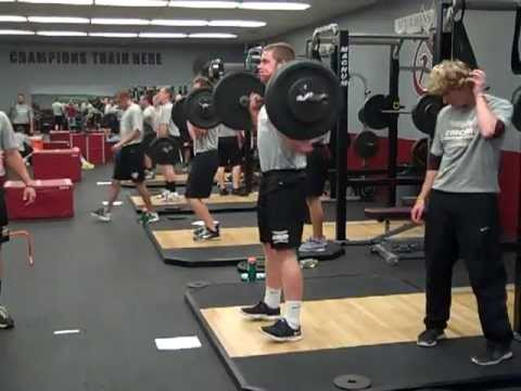 Concord Baseball Hypertrophy Workout Plyometrics Circuit