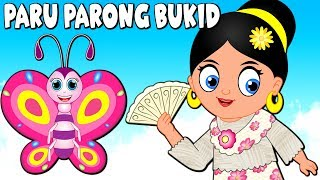 Paru Parong Bukid | Awiting Pambata Tagalog | Filipino Nursery Rhyme