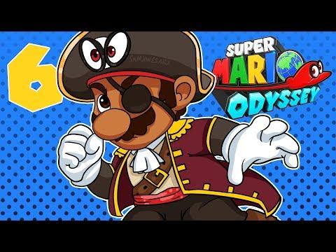 BasicallyIPlay: Super Mario Odyssey #6 Seaside Kingdom!