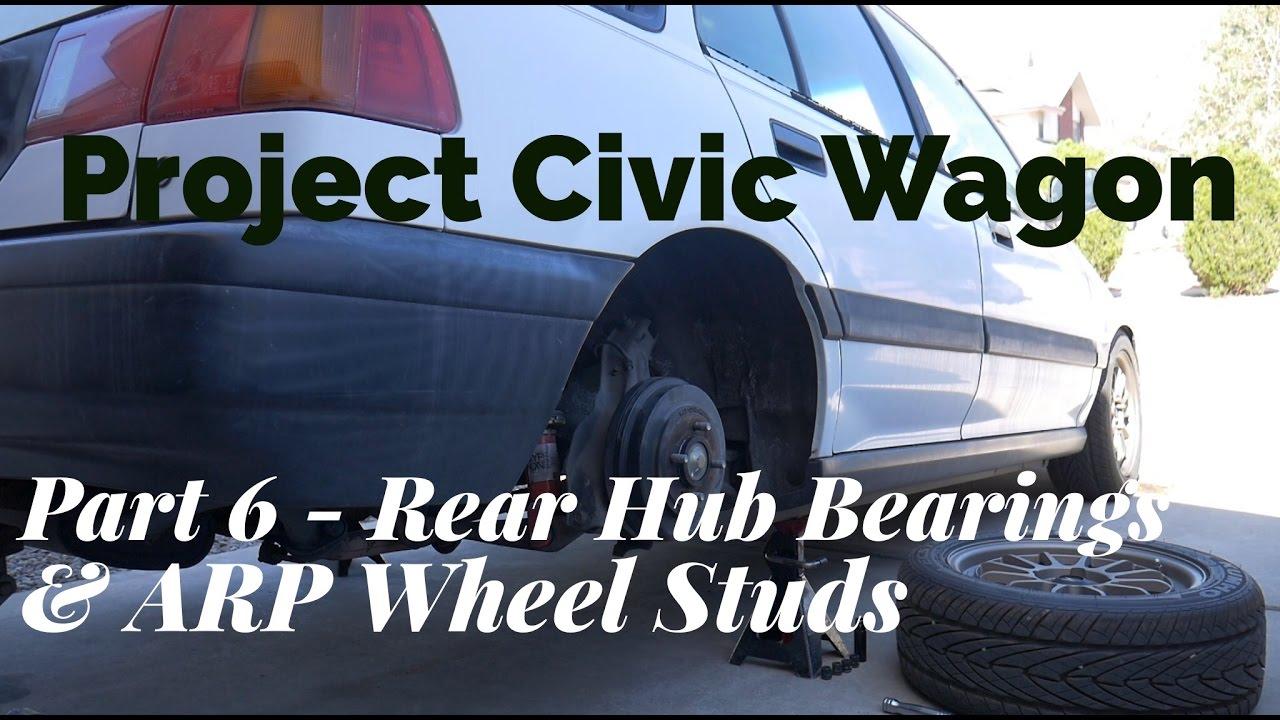 civic wagon rt4wd rear disc conversion