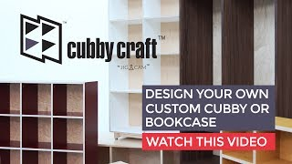 Cubby Craft - Design your own cubby storage solution online!