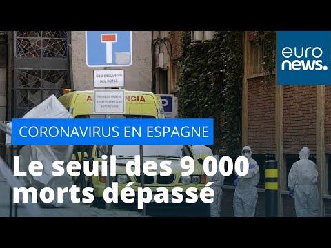 En Espagne, le seuil des 9000 morts dépassé