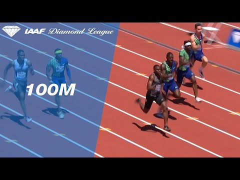 Christian Coleman posts a world lead in the 100m sprint in Stanford - IAAF Diamond League 2019