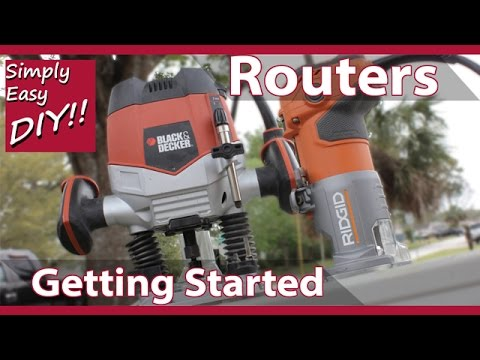 Woodworking Routers - A Beginners Guide #4