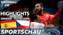 Spielbericht: Spanien auch gegen Tschechien souverän | Handball-EM | Sportschau