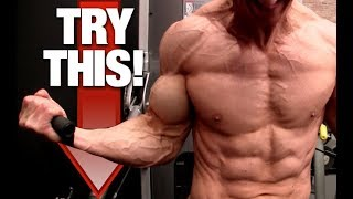 4 Ways to Gain 1 Inch On Your Arms! (BICEPS | TRICEPS) thumbnail